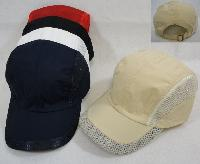 Nylon and Mesh Ball Cap [Solid Colors]